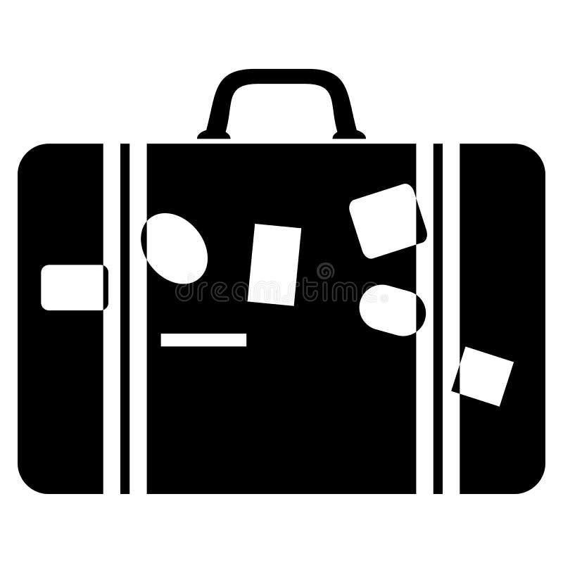 maleta stock de ilustración