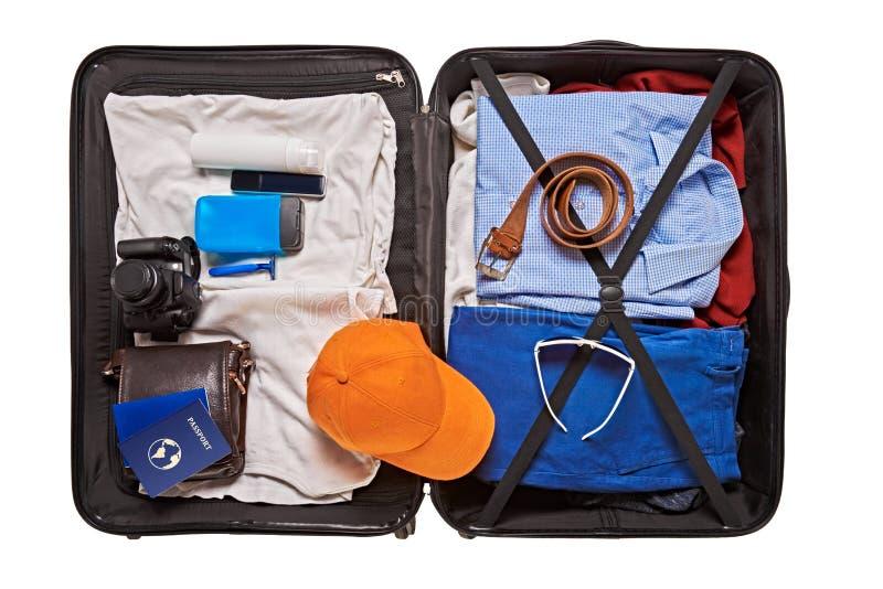 Maleta para viajar foto de archivo libre de regalías