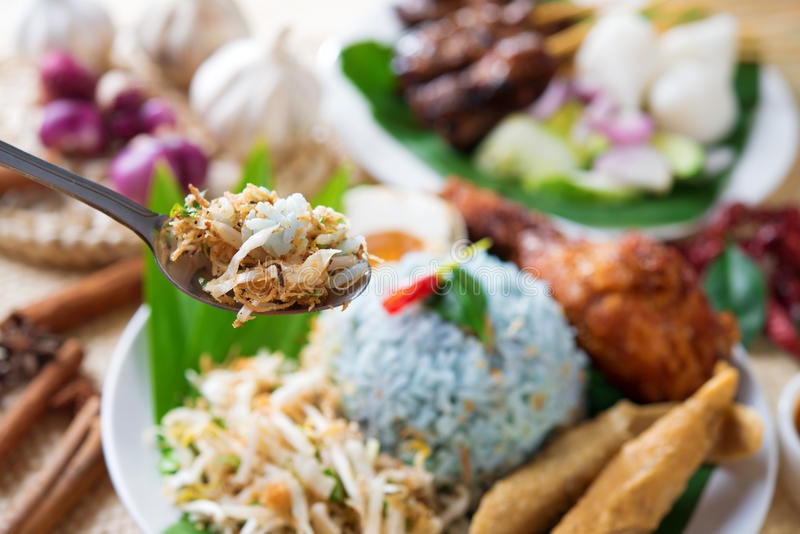 Malezja jedzenie zdjęcia stock