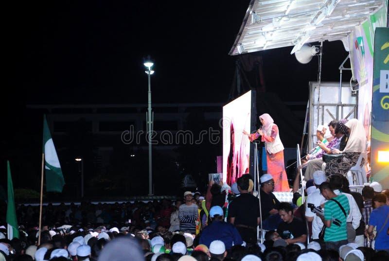 Malezja 13th wybór powszechny 2013 obraz stock