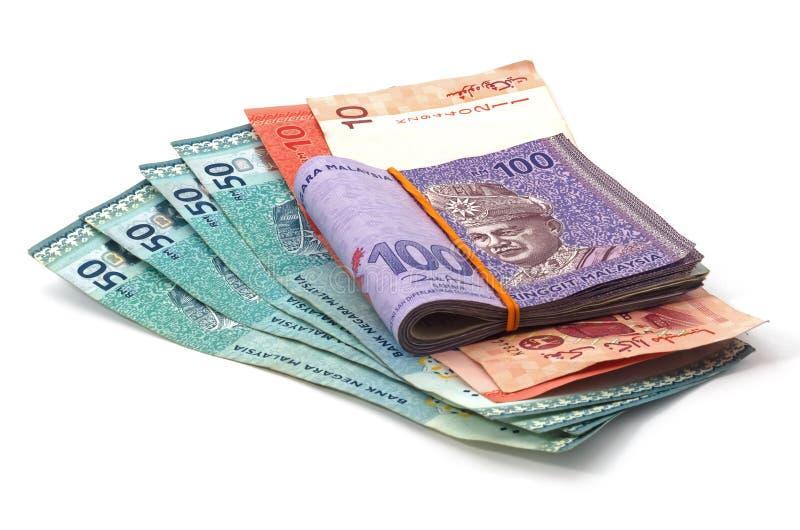 Malezyjska waluta obrazy stock
