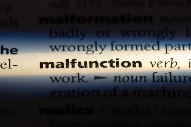 malfunction photos stock