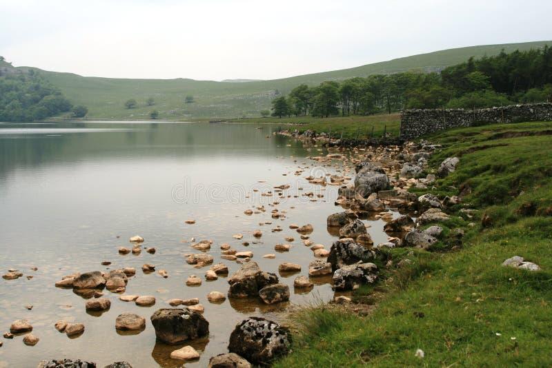 malham小湖 库存图片