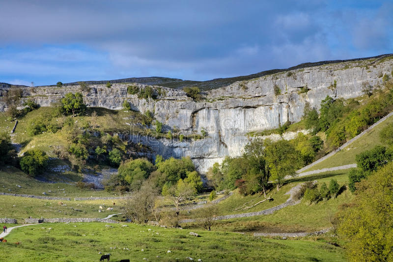 Download Malham Cove stock photo. Image of george, hopkins, cove - 12166352