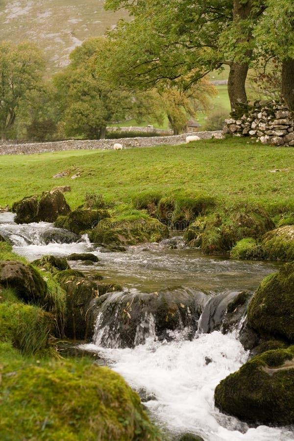 Malham dans les vallées de Yorkshire image libre de droits