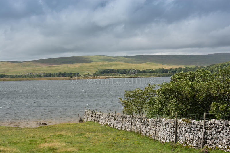 Malham Tarn. In the Yorkshire Dales on the Pennine Way royalty free stock image