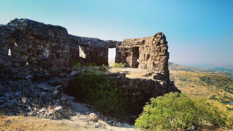Malhar Gadh fort indu zdjęcie royalty free