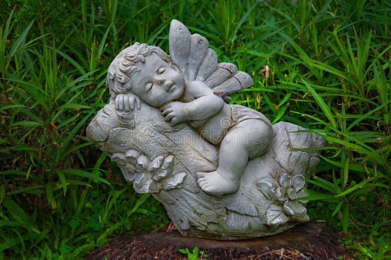MALI aniołów sen zdjęcia royalty free