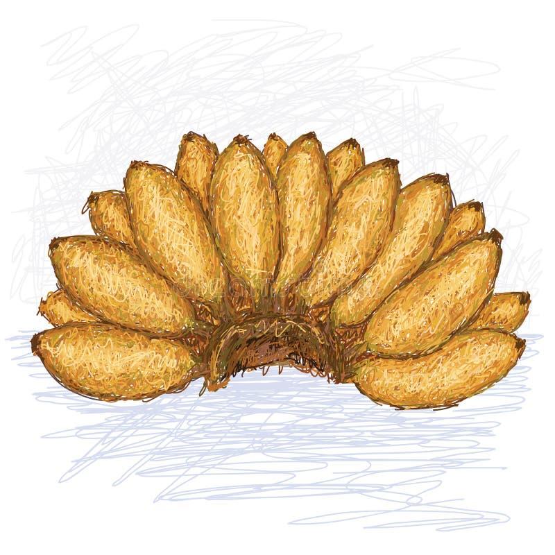 Download Mali banany ilustracji. Ilustracja złożonej z nutritive - 28956799