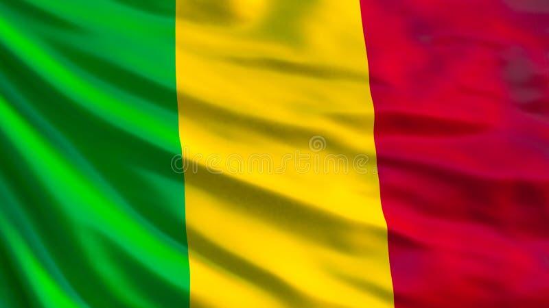 The flag of Mali.