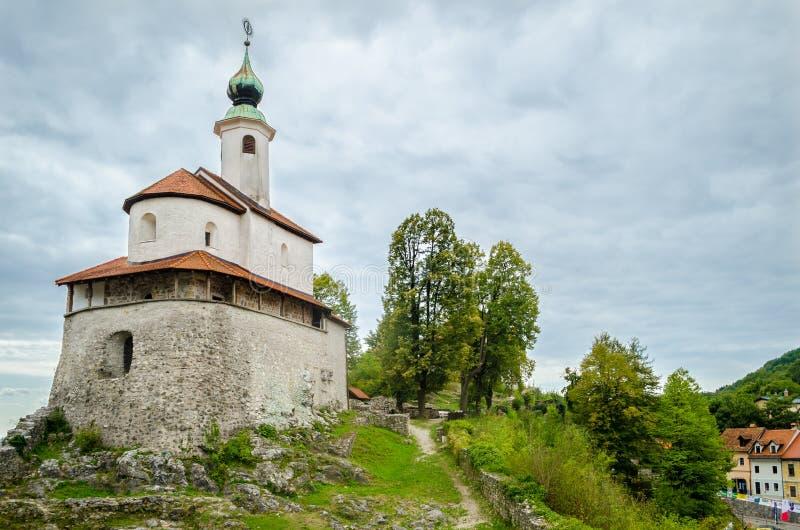 Mali grad, Kamnik, Slovenia. Mali grad (little castle), Kamnik, Slovenia stock photos