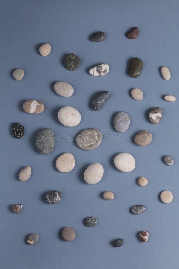 Mali kamienie dla cieki masażu zdjęcia stock