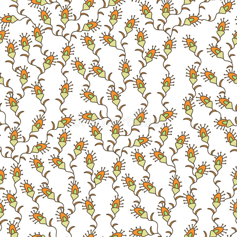 Mali kwiaty ilustracji