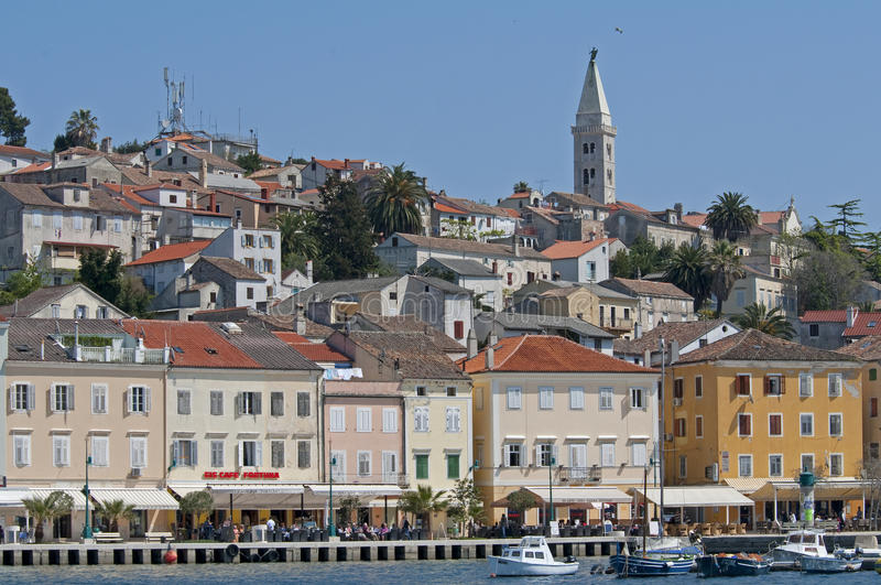 Mali Losinj Croatia foto de archivo