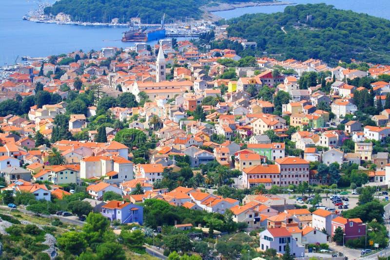 Mali Losinj, mer Adriatique, Croatie photographie stock