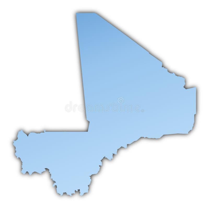 Download Mali Map Royalty Free Stock Photo - Image: 7071405