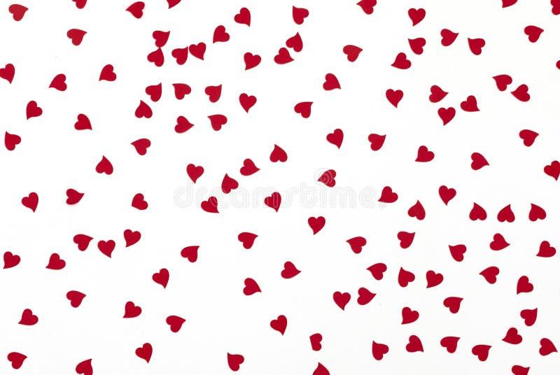 Mali serca jako symbol miłość fotografia royalty free
