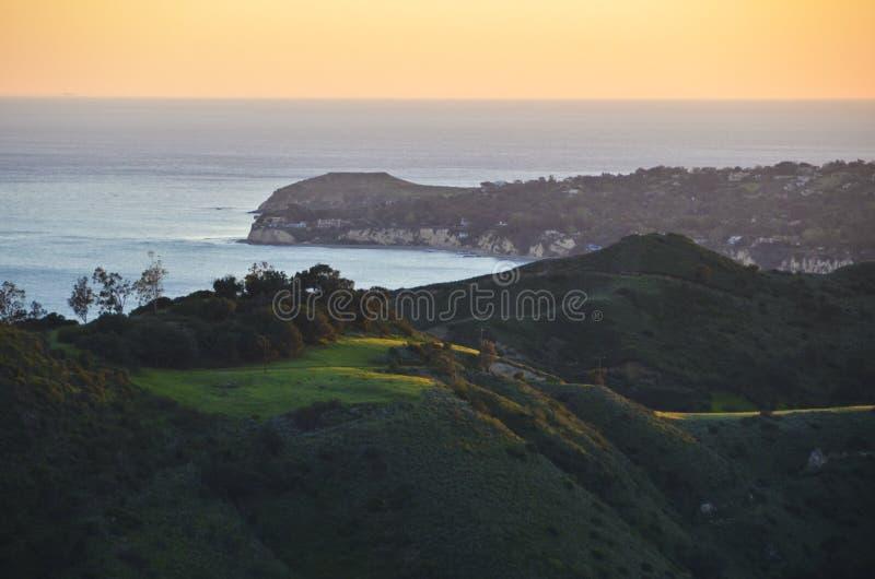 Malibu Californië stock foto's