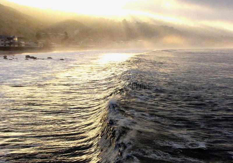 Malibu Dawn royalty-vrije stock afbeeldingen