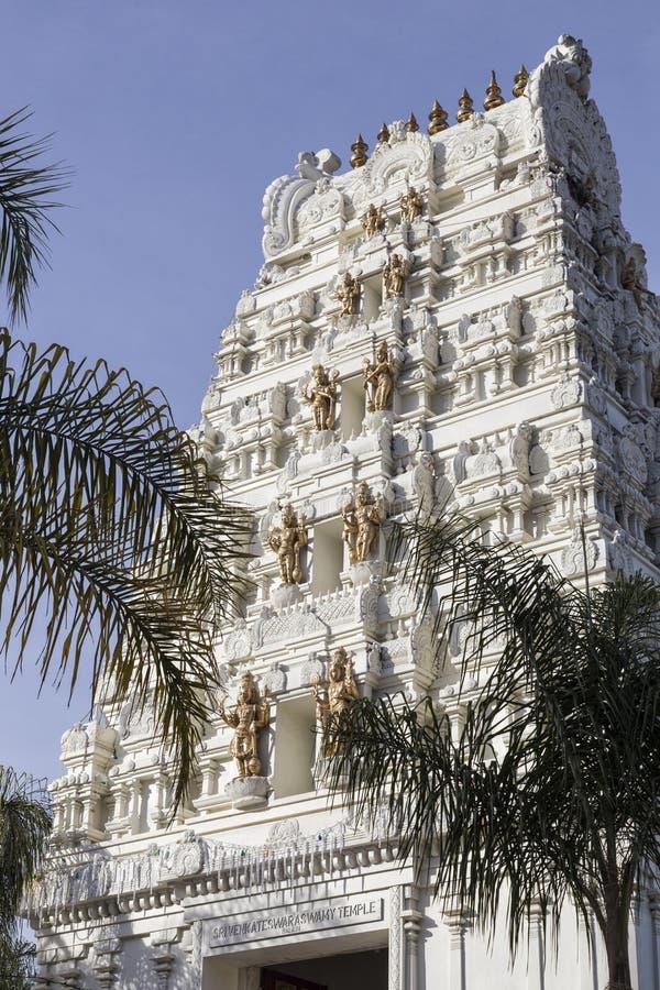 Malibu Hinduska świątynia zdjęcie stock