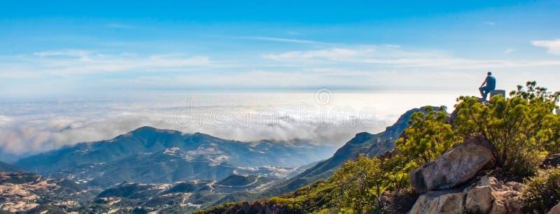 Malibu Mountains, California stock photos