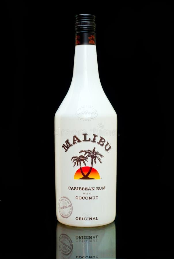Malibu rum fotografia stock