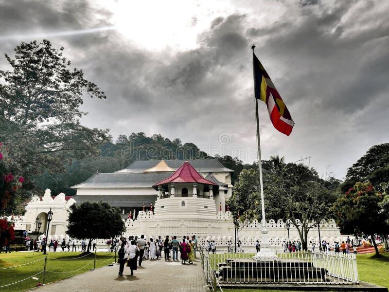 Maligawa de Dalada imagenes de archivo