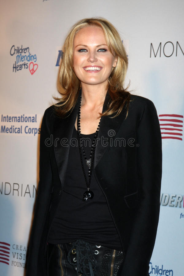 Malin Ackerman. Arriving at the Children Mending Hearts Event at the House of Blues in Los Angeles, CA on February 18, 2009 royalty free stock photography