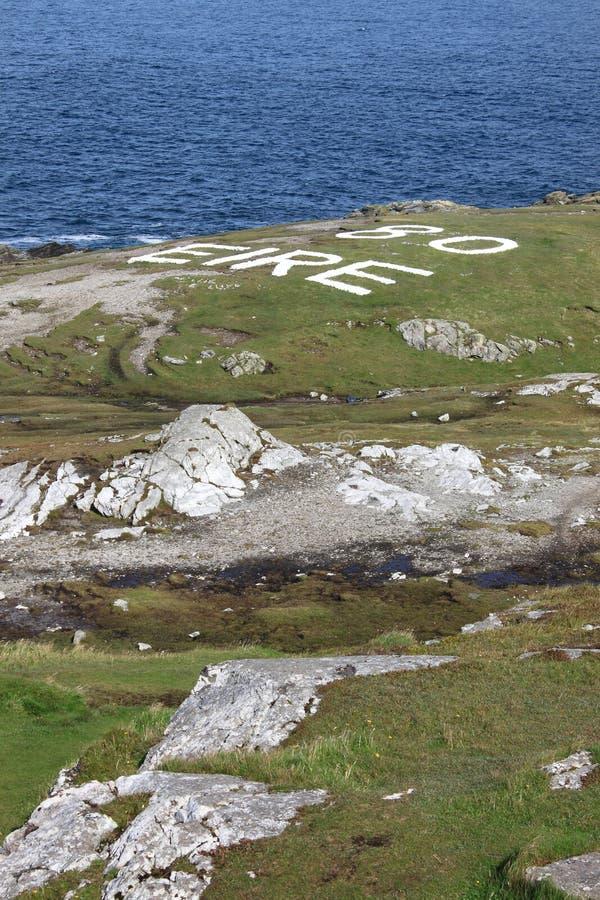 Malin Head in Ireland royalty free stock photos