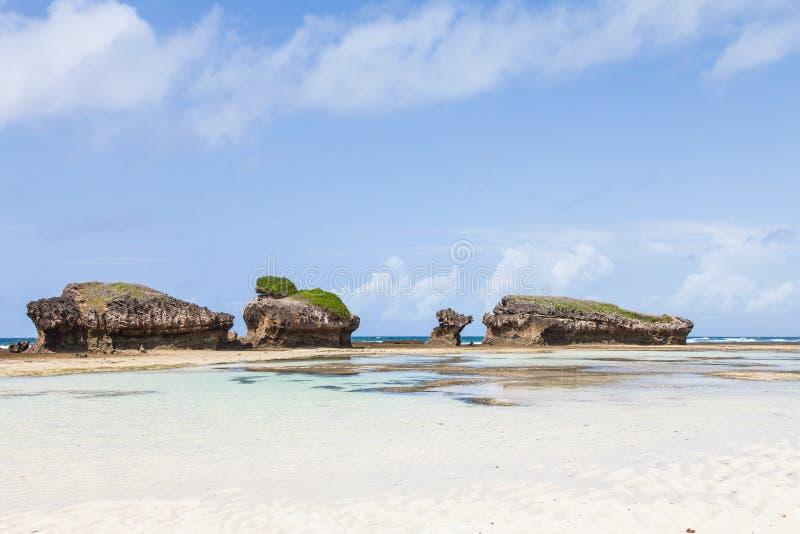 Malindi Strand lizenzfreies stockfoto