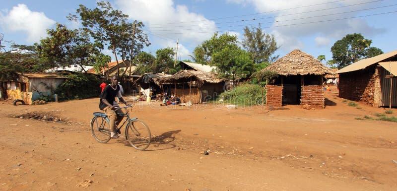 Malindis Straße stockfotografie
