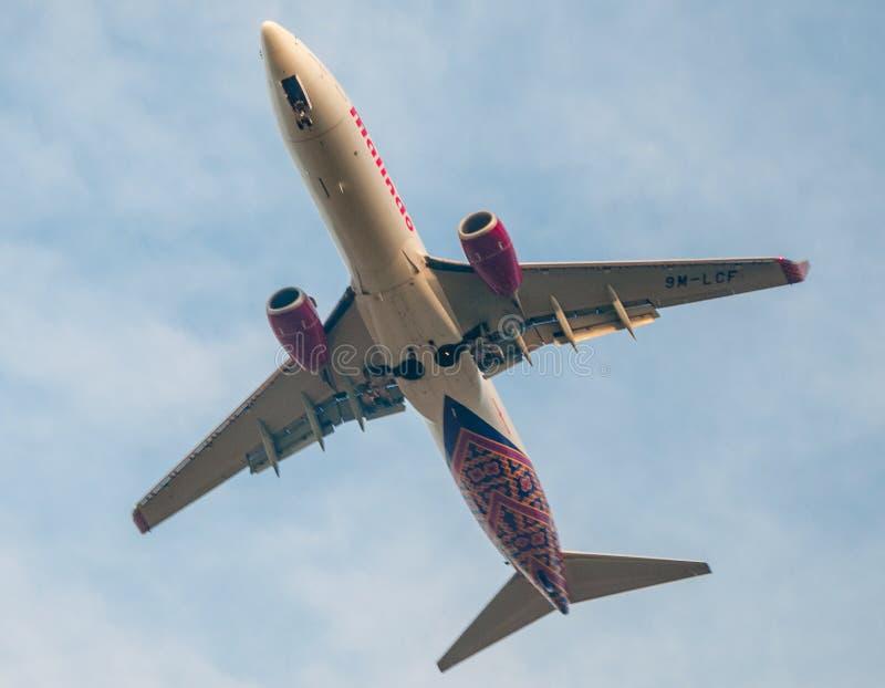 Malindo Airways royalty free stock image