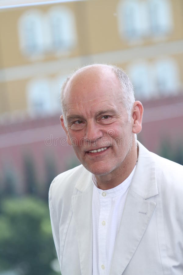 malkovich john актера стоковые фото