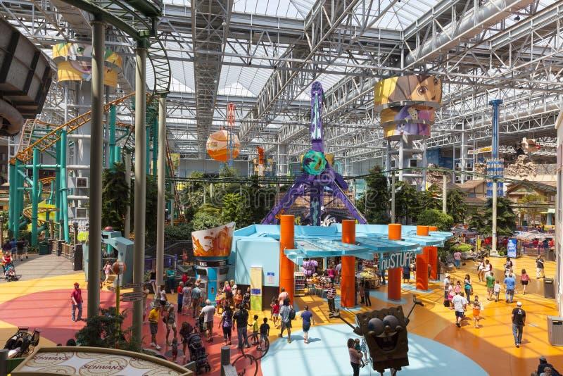 Mall Amerikas des Vergnügungsparks in Bloomington, Mangan am 6. Juli, lizenzfreie stockfotos