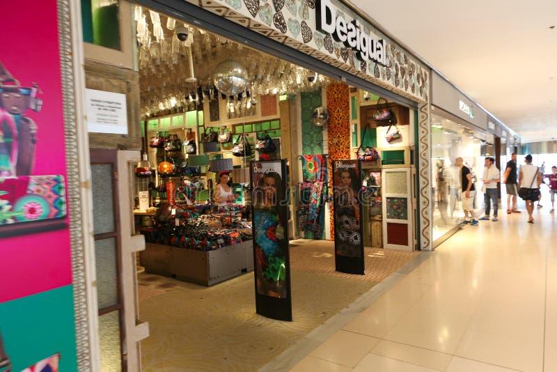 Mall in Barcelona lizenzfreie stockfotografie