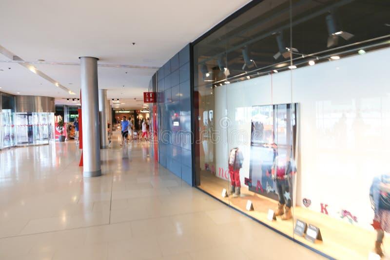 Mall in Barcelona lizenzfreies stockbild