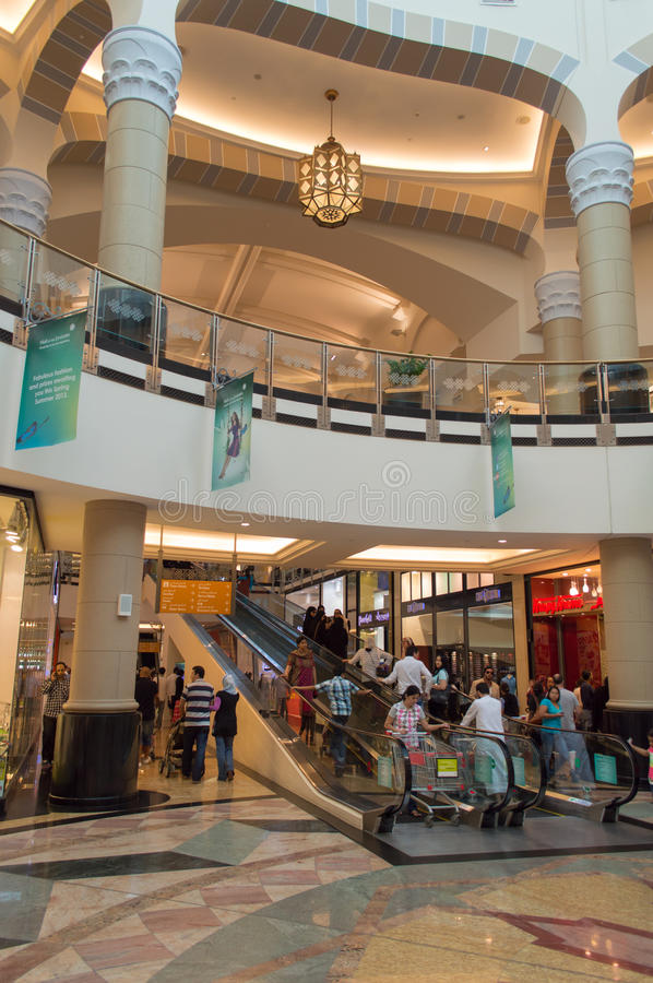 Mall of the Emirates royalty free stock images