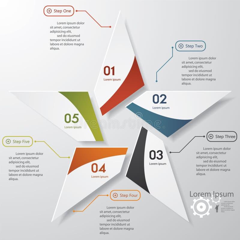 Mall för baner för designrengöringnummer. royaltyfri illustrationer
