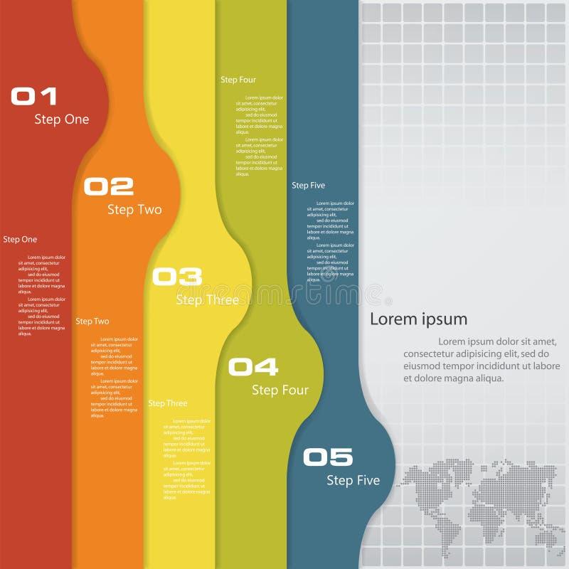 Mall för baner för designrengöringnummer royaltyfri illustrationer