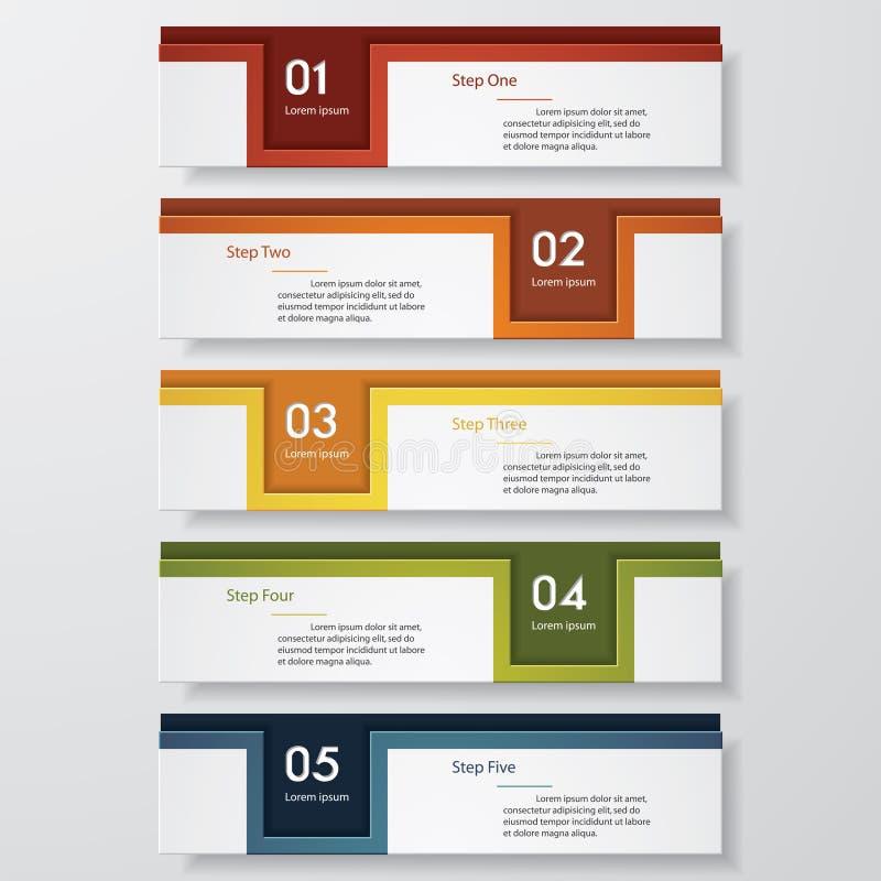 Mall för baner för designrengöringnummer vektor vektor illustrationer