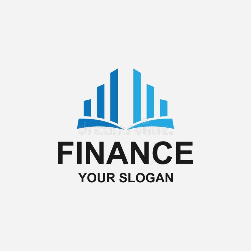 mall för finansieringslogotyp arkivfoton