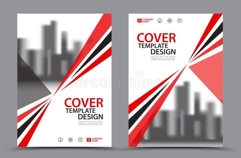 Mall för reklamblad för vektorbroschyrbroschyr vektor illustrationer