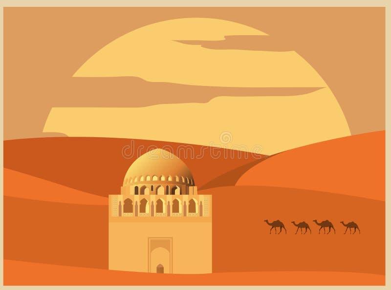 Mall för stadsbyggnadsdiagram Turkmenistan stock illustrationer