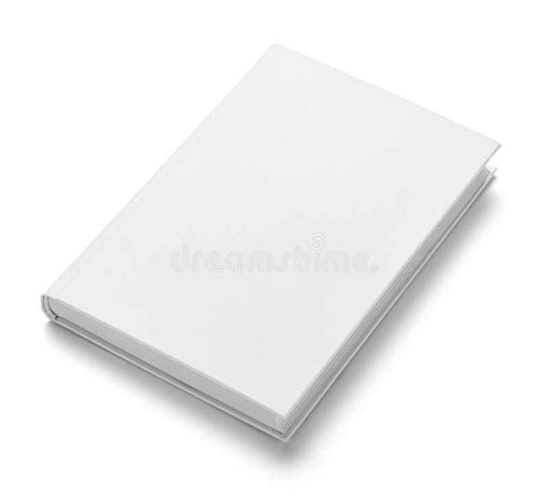 Mall för tomt papper för bokanteckningsboklärobok vit arkivfoto