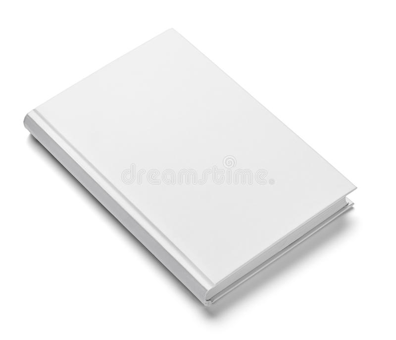 Mall för tomt papper för bokanteckningsboklärobok vit arkivbilder