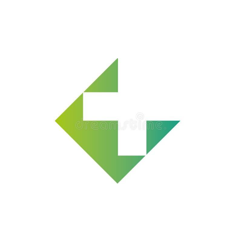 Mall för vektor för design för abstrakt begrepp för kors för apotekLogo Medicine gräsplan Begrepp för logotyp för ögla för oändli arkivbild