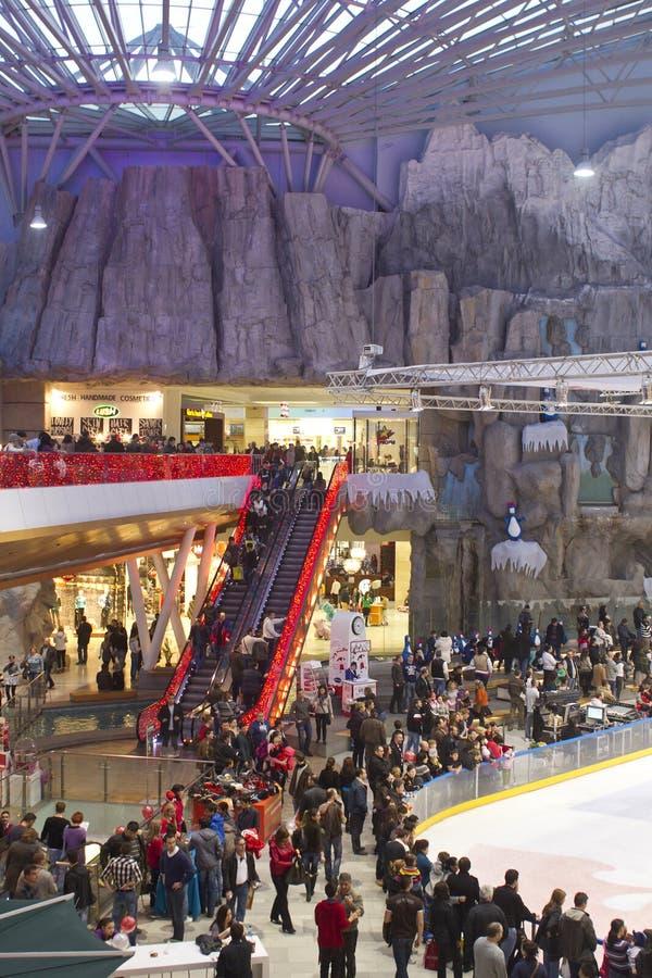 Mall scene royalty free stock photo