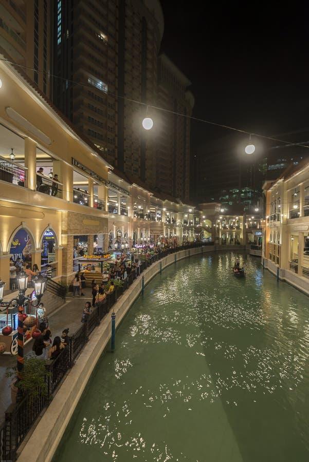 Mall Venedigs Grand Canal stockfotografie