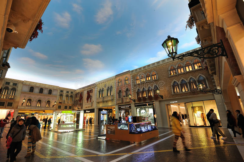 Download Mall In The Venetian Macao Editorial Photography - Image: 23507052