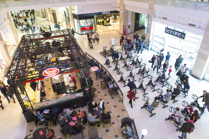 Download Mall editorial photography. Image of bullring, bucuresti - 53504567